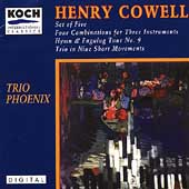 Cowell: Set of Five, Four Combinations, etc / Trio Phoenix
