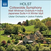 Holst: Cotswolds Symphony; Walt Whitman Ov.; Indra; Japanese Suite; A Winter Idyll / JoAnn Falletta