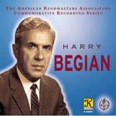 Harry Begian: ABA Commemorative Series/ Hindemith / Cass Tech Hs Sym Band