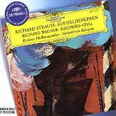 R. Strauss: Ein Heldenleben;  Wagner / Karajan, Berlin PO