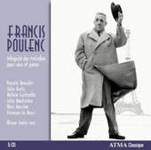 Poulenc: Complete songs for voice and piano / Beaudin, Fuchs, Guilmette, Boulianna, Boucher. Olivier Godin, piano
