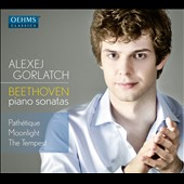 Beethoven: Piano Sonatas 'Pathétique', 'Moonlight' & 'Tempest' / Alexej Gorlatch, piano
