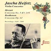 Strings - Jascha Heifetz - Mozart, Beethoven: Concertos