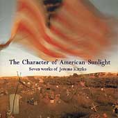Kitzke: The Character of American Sunlight