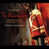 Tchaikovsky: The Nutcracker - Complete Ballet arranged for solo piano / Stewart Goodyear, piano