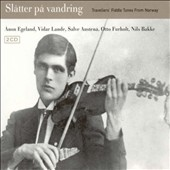 Various Artists: Slatter Pa Vandring: Travellers' Fiddle Tunes From Norway [Digipak]