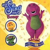 Barney (Children): I Love to Sing with Barney