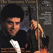 The Romantic Violin / Sergiu Schwartz, Ruzhka Charakchieva