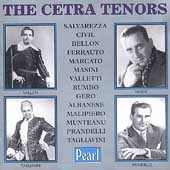 The Cetra Tenors - Salvarezza, Civil, Bellon, Ferrauto, etc