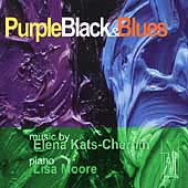 Purple Black & Blues - Kats-Chernin / Lisa Moore