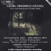 Handel: Nine German Arias / H&ouml;gman, Pehrsson