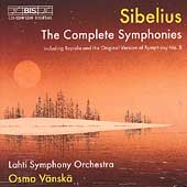 Sibelius: The Complete Symphonies / Vänskä, Lahti SO
