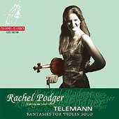 Telemann: Fantasies for Violin Solo / Rachel Podger