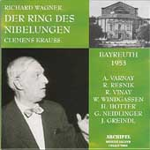 Der Ring des Nibelungen / Krauss, Varnay, Hotter, Windgassen
