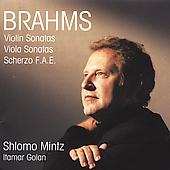 Brahms: Violin Sonatas, etc / Shlomo Mintz, Itamar Golan