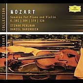The Mozart Collection - Violin Sonatas / Perlman, Barenboim