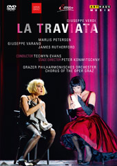 Verdi: La Traviata / Petersen, Varano, Rutherford [DVD]