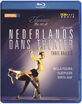 Elegance, The Art of Jirí Kylián - Three Ballets: Bella figura; Sleepless; Birth-Day. Music by Lucas Foss, Pergolesi, Vivaldi, Mozart, Haubrich et al. / Netherland Dance Theater [Blu-ray]