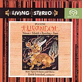 Puccini: Turandot / Leinsdorf, Nilsson, Tebaldi, et al