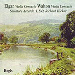Elgar, Walton: Violin Concertos / Accardo, Hickox, London SO