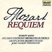 Mozart: Requiem / Shaw, Atlanta SO & Chorus