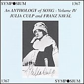 Anthology of Song, Vol IV - Franz Naval