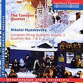 Myaskovsky: Complete String Quartets Vol. 3 / Taneyev Quartet