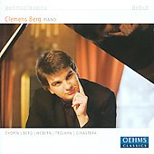 Debut - Chopin, Berg, Webern, Trojahn, Ginastera / Clemens Berg