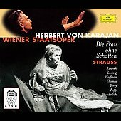 Strauss: Die Frau ohne Schatten / Karajan, Rysanek, Ludwig, Thomas, Berry, Wiener Staatsoper, et al