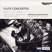 Telemann: Flute & Recorder Concerto; Fasch: Flute Concerto, etc / Linde, Cappella Coloniensis, et al