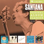 Santana: Original Album Classics: Caravanserai/Love Devotion Surrender/Welcome/Borboletta/Amigos