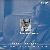 Franz Schubert: Piano Sonatas no 14, D 784 and no 20, D 959 / Paul Badura-Skoda, piano