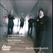 Beethoven: String Quartet, Op. 135; Schumann: String Qaurtets, Op. 41 1 & 2 [Includes DVD]