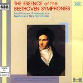 The Essence of the Beethoven Symphonies / Edlinger, Halász