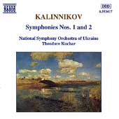 Kalinnikov: Symphonies nos 1 & 2 / Kuchar, Ukraine NSO