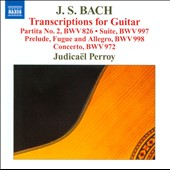 Bach: Transcriptsions for Guitar / Judicael Perroy