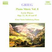 Grieg: Piano Music Vol 8 / Einar Steen-Nokleberg