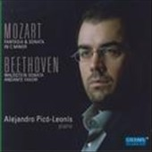 Mozart: Fantasia & Sonata; Beethoven: Waldstein Sonata / Alejandro Pico-Leonis, piano
