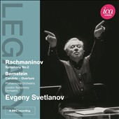 Rachmaninov: Symphony No. 2; Bernstein: Candide Overture / Svetlanov