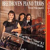 Beethoven: Piano Trios Vol 3 / Trio Italiano