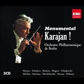 Monumental Karajan! - Mozart, Schubert, Brahms, Wagner, Sibelius, Smetana, Mendelssohn, Strauss et al.