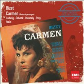 Bizet: Carmen in German / Ludwig, Schock, Muszely, Prey. Horst Stein  (Electrola Collection)