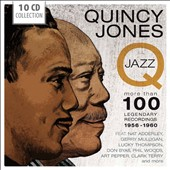 Quincy Jones: Q-Jazz: More Than 100 Legendary Recordings 1956-1960