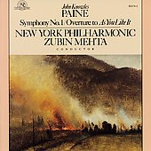 Paine: Symphony no 1 / Mehta, New York Philharmonic
