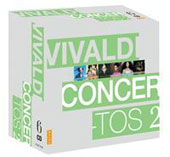 Vivaldi Concertos II - Concertos for Flute, Violin, Cello, Oboe, Bassoon [6 CDs]