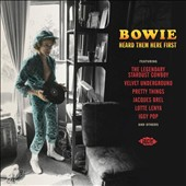Various Artists: Bowie Heard Them Here First