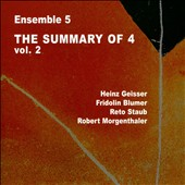Ensemble 5: The Summary of 4, Vol. 2
