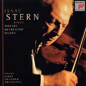 Isaac Stern plays Mozart, Beethoven, Haydn / Franz Liszt CO