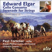 Edward Elgar: Cello Concerto; Serenade for Strings; Tchaikovsky: Rococo Variations; Dvorak: Rondo in g / Paul Tortelier, cello; Royal PO, Groves