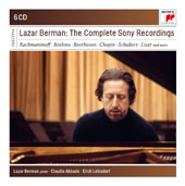 Lazar Berman: The Complete Sony Recordings by Various Composers / Lazar Berman, piano; London SO, Claudio Abbado; Chicago SO, Erich Leinsdorf